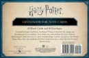 Harry Potter: Gryffindor Foil Note Cards : Set of 10 - Book