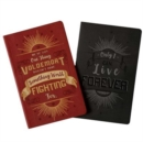 Harry Potter: Character Notebook Collection. Set of 2: Harry and Voldemort - Book