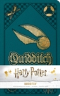 Harry Potter: Quidditch Hardcover Ruled Journal - Book