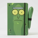 Rick and Morty: Pickle Rick Hardcover Ruled Journal With Pen - Book