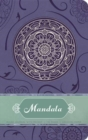 Mandala Hardcover Ruled Journal - Book