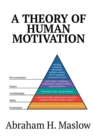 A Theory of Human Motivation - Book