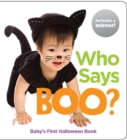 Who Says Boo? : Baby's First Halloween Book - Book