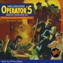 Operator #5 #18 Invasion of the Crimson Death Cult - eAudiobook