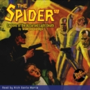 The Spider #52 Legions of the Accursed Light Death - eAudiobook