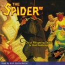 The Spider #55 City of Whispering Death - eAudiobook