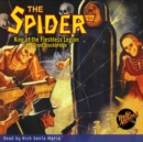 The Spider #68 King of the Fleshless Legion - eAudiobook