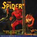 The Spider #71 The Spider and the Fire God - eAudiobook