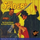 The Spider #72 The Corpse Broker - eAudiobook