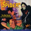 The Spider #8 The Mad Horde - eAudiobook