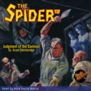 The Spider #81 Judgment of the Damned - eAudiobook