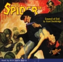 The Spider #85 Council of Evil - eAudiobook