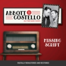Abbott and Costello : Missing Script - eAudiobook