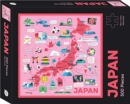 Japan Map Puzzle : 500-Piece Jigsaw Puzzle - Book