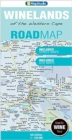Road map Winelands of the Western Cape - Book