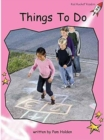 Red Rocket Readers : Pre-Reading Non-Fiction Set C: Things to Do - Book