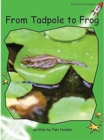 Red Rocket Readers : Early Level 4 Non-Fiction Set C: From Tadpole to Frog Big Book Edition - Book