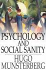 Psychology and Social Sanity - eBook