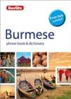 Berlitz Phrase Book & Dictionary Burmese(Bilingual dictionary) - Book