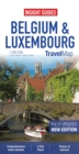 Insight Guides Travel Map Belgium and Luxembourg - Book