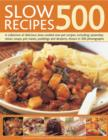 Slow Recipes 500 - Book