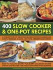 400 Slow Cooker & One-Pot Recipes - Book