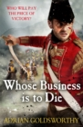 Whose Business is to Die - Book