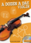 A Dozen a Day - Violin - Book