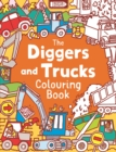 The Diggers and Trucks Colouring Book - Book