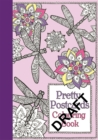 Pretty Flower Postcards - Book