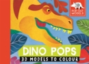 Dino Pops : 3D Models to Colour - Book