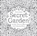Secret Garden : An Inky Treasure Hunt and Colouring Book - Book