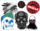 Stickerbomb Skulls - Book