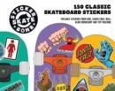 Stickerbomb Skate : 150 Classic Skateboard Stickers - Book
