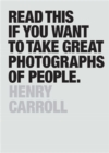 Read This if You Want to Take Great Photographs of People - Book
