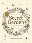 Secret Garden Artist's Edition: A Pull-Out and Frame Colouring Book : A Pull-Out and Frame Colouring Book - Book