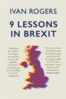 9 Lessons in Brexit - Book