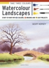 Take Three Colours : Watercolour Landscapes - eBook