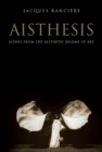 Aisthesis : Scenes from the Aesthetic Regime of Art - eBook
