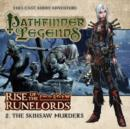 Rise of the Runelords: The Skinsaw Murders - Book