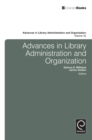 Advances in Library Administration and Organization - Book