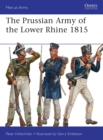 The Prussian Army of the Lower Rhine 1815 - eBook