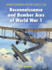 Reconnaissance and Bomber Aces of World War 1 - eBook
