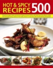 500 Hot & Spicy Recipes - Book