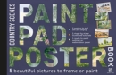 Paint Pad Poster Book: Country Scenes : 5 Beautiful Pictures to Frame or Paint - Book