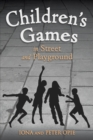 Children's Games in Street and Playground - Book