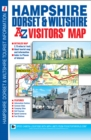 Hampshire, Dorset and Wiltshire A-Z Visitors' Map - Book