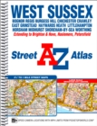 West Sussex A-Z Street Atlas - Book
