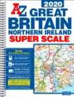 Great Britain Super Scale Road Atlas 2020 (A3 Spiral) - Book