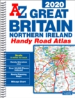 Great Britain Handy Road Atlas 2020 (A5 Spiral) - Book
